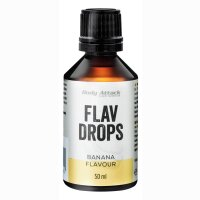 Body Attack Flav Drops 50ml Cheesecake