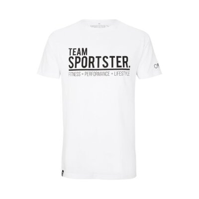 Team Sportster Tee - White