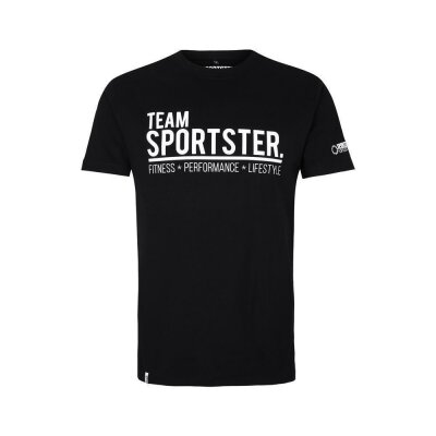 Team Sportster Tee - Black