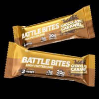 Battle Bites High Protein Bar Caramel Chocolate Bites