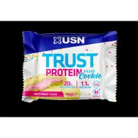 USN Trust Protein filled Cookie 75g Birthday Cake