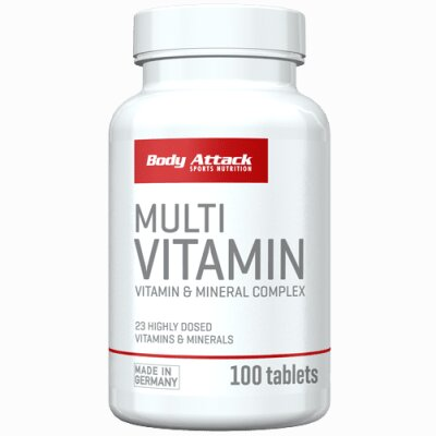 Body Attack Multi Vitamin