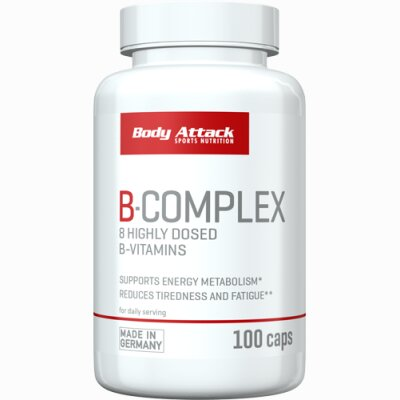 Body Attack B-Complex 100 Caps