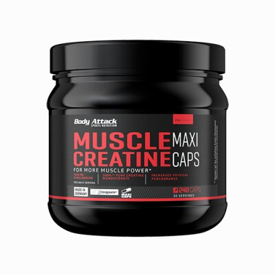 Body Attack Muscle Creatin (Creapure) Maxi Caps