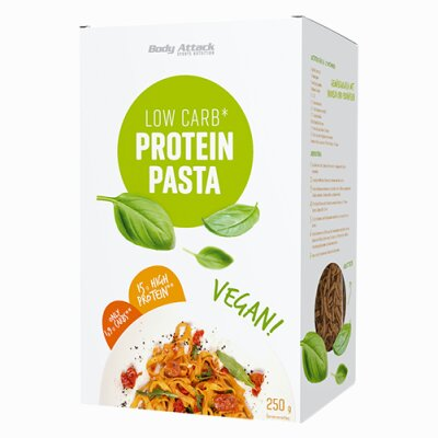 Body Attack Low Carb Protein Pasta - Vegan