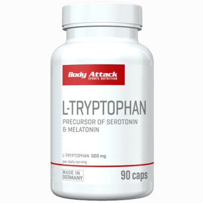Body Attack L-Tryptophan 90 Caps