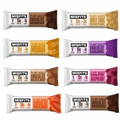 Misfits Vegan High Protein Bar